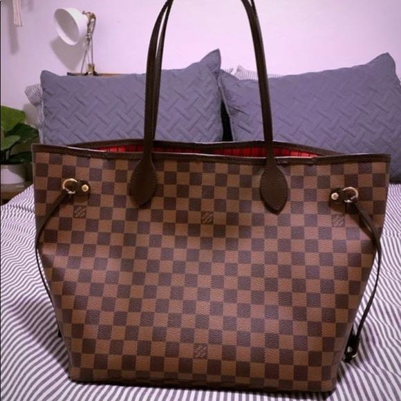 Louis Vuitton Handbags - ✨AUTHENTICATED ✨Louis Vuitton neverfull mm✨